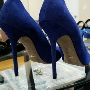 Sergio Rossi purble/ blue pumps
